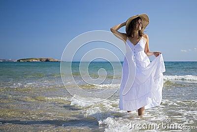 Jeu avec la mer