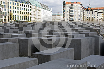 Jew monument berlin Editorial Photography