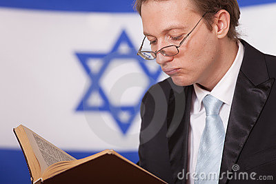 Jew reading book