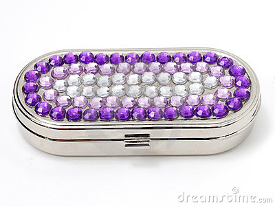 Jeweled Pill Box