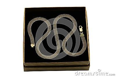 Jewelery gold chain