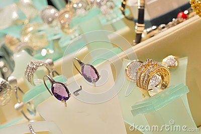 Luxurious woman jewellery
