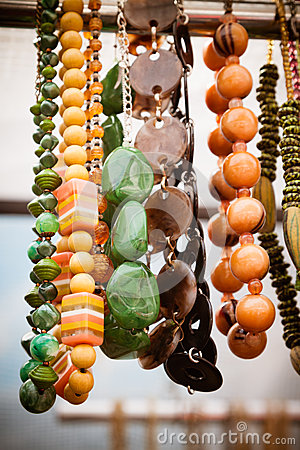 Jewellery at market