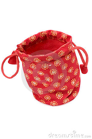 Free Jewellery Pouch Royalty Free Stock Photography - 9675857