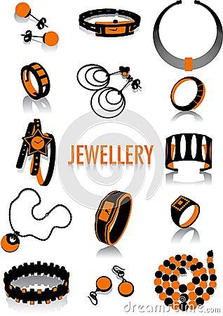Jewellery silhouette
