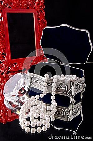 Free Jewelry Box (2) Royalty Free Stock Photos - 25002958