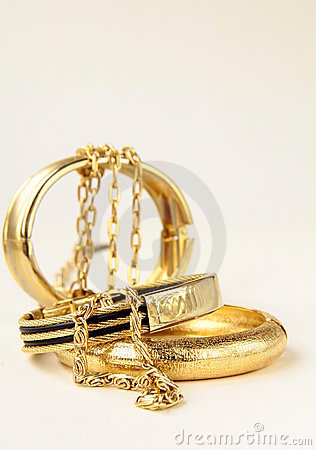 jewelry, bracelets and chains