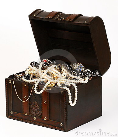 Free Jewelry Chest Royalty Free Stock Photo - 7994885