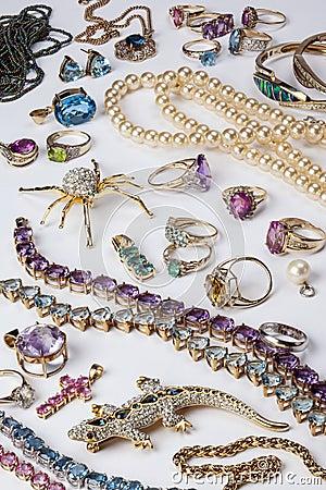 Free Jewelry - Gemstones - Gems Royalty Free Stock Photo - 30634585