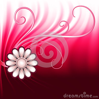 Jewelry red background