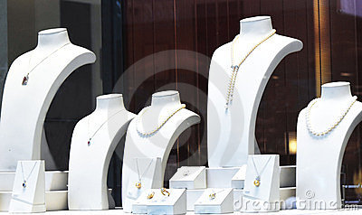 Jewelry shopwindow
