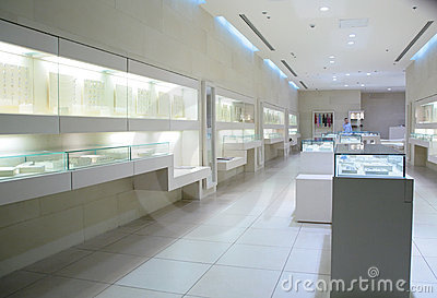 In jewelry store
