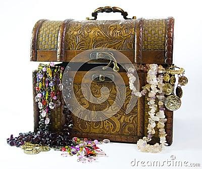 Jewelry trunk