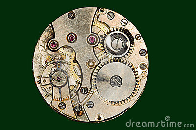 Jewels in a watch