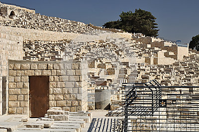 Jewish cemetery.