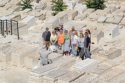 Jewish cemetery Editorial Stock Photo