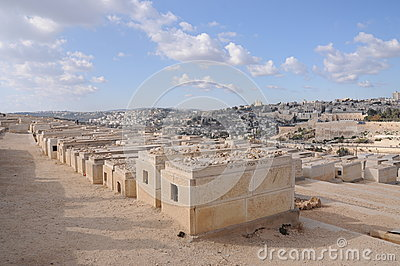 Jewish Cemetery in Israel