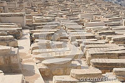 Jewish Cemetery in Israel