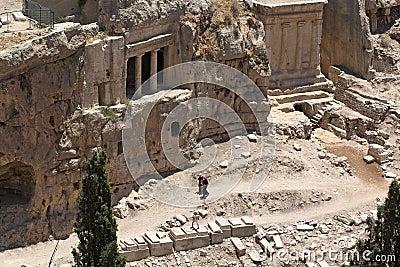 Jewish cemetery and necropolis Editorial Stock Photo