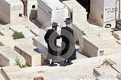 Jewish cemetery Editorial Image