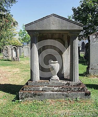 Free Jewish Graveyard At Summer Time Royalty Free Stock Images - 34187929