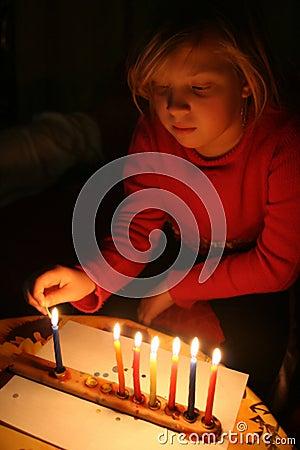 Jewish holiday of Chanukah