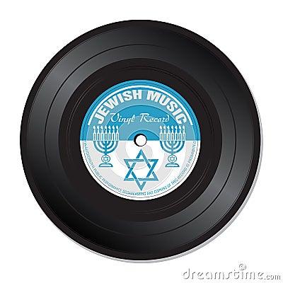 Jewish music vinyl record