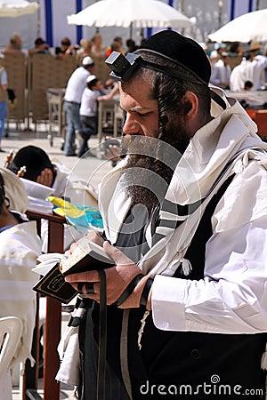 Jewish Prayer Editorial Photography