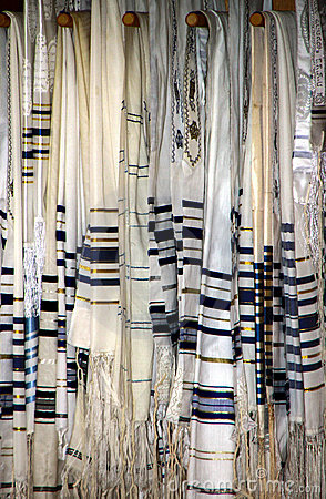 Jewish Prayer Shawls or Tallit