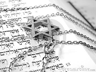 Jewish religious symbols macro 2