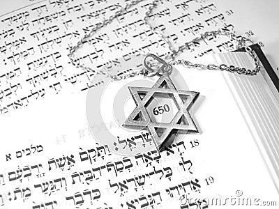 Jewish religious symbols macro 3