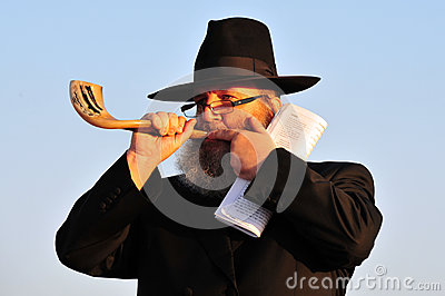 The Jewish Ritual - Tashlich Editorial Stock Photo