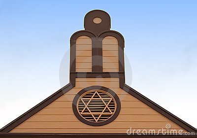 Jewish Star on Building
