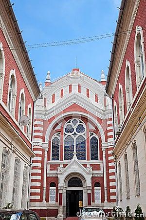 The Jewish Synagogue in Brasov