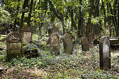 Jewish Tombs in very old cemetery