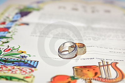 Jewish wedding, prenuptial agreement ketubah
