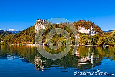 Jezioro Krwawiący, Slovenia
