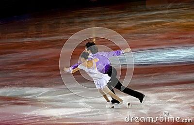 Jian Tong and Qing Pang Editorial Image