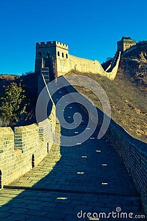 Free Jiankou Great Wall, Beijing, China, Asia Royalty Free Stock Image - 3933136