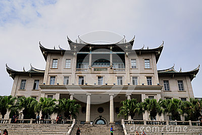 Jiannan Hall, Xiamen University Editorial Photo