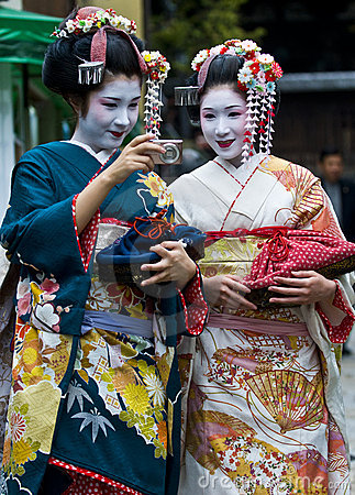 Jidai Matsuri  festival Editorial Stock Photo