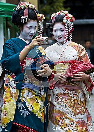 Jidai Matsuri  festival Editorial Stock Photo