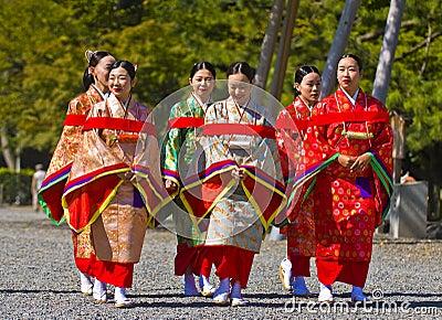 Jidai Matsuri  festival Editorial Photo