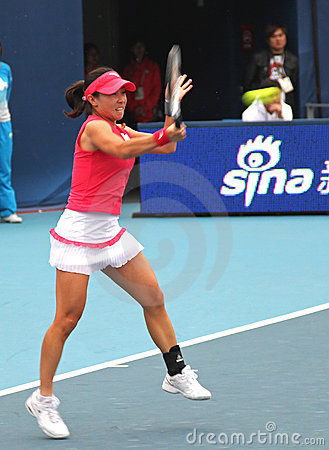 Jie Zheng (CHN), professional tennis player Editorial Stock Image