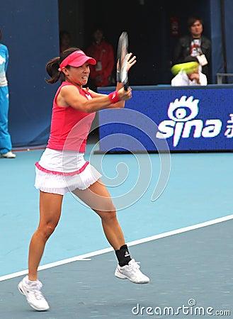 Jie Zheng (CHN), professional tennis player Editorial Stock Image