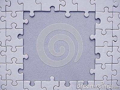 Jigsaw frame
