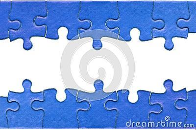 Jigsaw header and footer