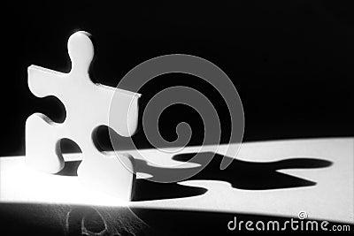 Jigsaw Man Shadow