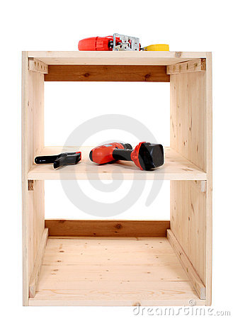 Jigsaw And Other Tools On Shelf Project