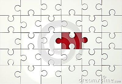 Jigsaw Piece Missing